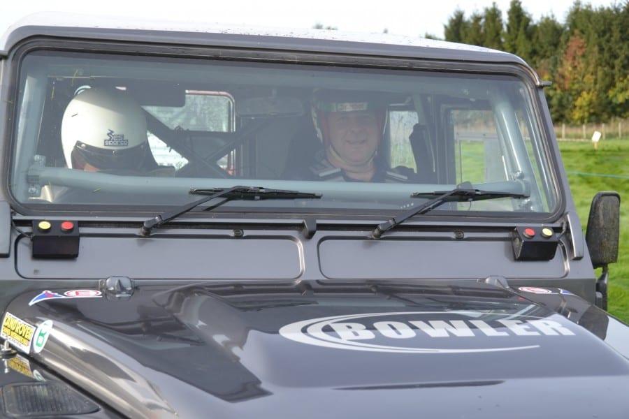 James in Car
